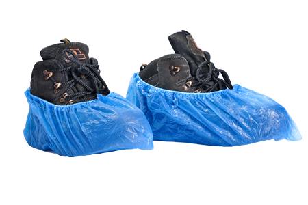 PE Disposable Shoe Covers