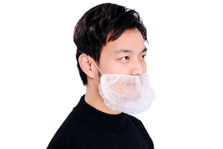 Polypropylene Disposable Beard Covers