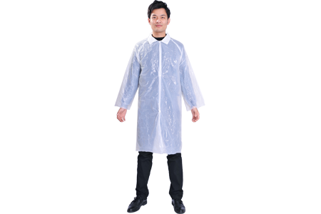Polyethylene Lab Coat