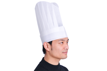 nonwoven chef hat